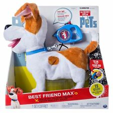 SECRET LIFE OF PETS WALKING DOG - MY BEST FRIEND MAX - LEAD - CHRISTMAS TOY GIFT