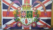 new 5x3' 36th ulster division flag somme centenary thiepval ypres union jack