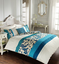 Scroll Luxurious Duvet Covers Quilt Covers Reversible Bedding Sets (All Sizes)