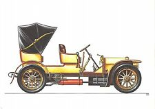 B99400 mercedes simplex tourenwagen 1902 germany oldtimer car voiture