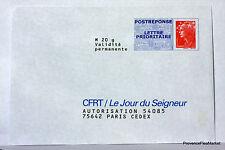 Lettre PAP Pret a Poster  FRANCE CFRT LE JOUR DU SEIGNEUR  NEUF PAP14