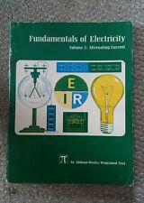 Vintage Fundamentals of Electricity Booklet Vol. 2 Alternating Current