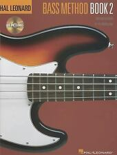 Hal Leonard Electric Bass Method Bk. 2 by Ed Friedland (1996, CD / Paperback,...