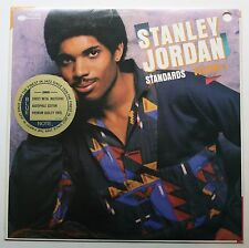 Stanley Jordan Travis Bean Guitar Blue Note LP 1986