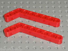 LEGO TECHNIC Red liftarm beam 3x7 ref 32271 / set 8070 7945 8416 8109 7721 8283