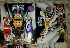 New Bandai Mighty Morphin Power Rangers LEGACY NINJA MEGAZORD FALCONZORD!!