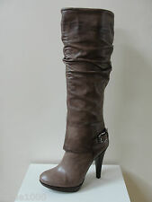 "Fab Geox ""Keira"" taupe leather knee high boots, UK 8/EU 41, RRP £250.00, BNWB"