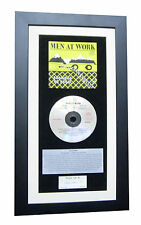 MEN AT WORK Business Usual CLASSIC CD Album TOP QUALITY FRAMED+FAST GLOBAL SHIP
