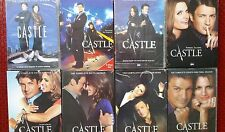 CASTLE: The Complete Series, Seasons 1-8 on DVD, NEW  FREE SHIPPING