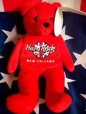 HRC Hard Rock Cafe New Orleans Rita Bear Beara Bär Teddy Herrington