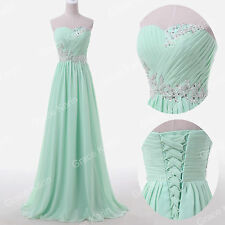 Quinceanera Vintage Dress Bridesmaid WEDDING Ball Gown Evening Long Prom Dresses