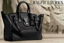 NEW WITH TAG - RALPH LAUREN - Soft Ricky Leather Bag (Black) $2500