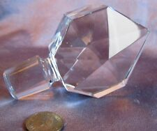 Decanter Stopper Crystal Pointed Spear Finial Numbered 575