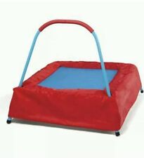 Mini Jumper first junior Trampoline kids indoor outdoor with Safety Bar