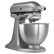 NEW KitchenAid KSM75SL 4.5 qt 275W Classic Plus Stand Mixer - Silver *Free Ship*