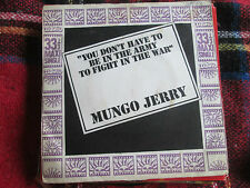 """Mungo Jerry  You Don't Have To Be In The Army DNX2513UK Vinyl 7"""" 45 Maxi-Single"""