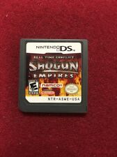 Real Time Conflict: Shogun Empires DSi DS Authentic Cartridge Only US English