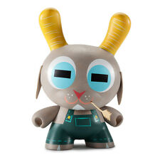 """Kidrobot Buck Wethers 8"""" Dunny by Amanda Visell (""""White Edition"""")"""