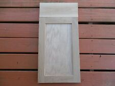 2 pc set 1 replacement fronts door & 1 drawer White Oak natural wood 24''X15''