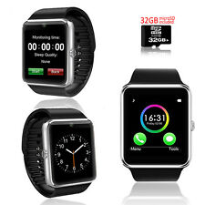 Bluetooth Smart Wrist Watch Phone Bracelet For IOS Android Samsung iPhone HTC