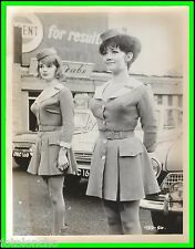 "AMANDA BARRIE & CAROLE SHELLEY in ""Carry on Cabby"" Original Vintage Photo 1963"