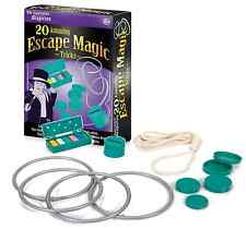 CHILDS BEGINNER MAGICIANS MAGIC SET 20 Escape Escapology Illusions Tricks 21027