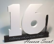 Sweet 16th Birthday Gifts Idea Wooden Signature Number Great Gift Ideas Splosh