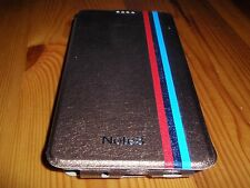 * Nuovo * Marrone Pelle Custodia Cover per Samsung Galaxy Note 3