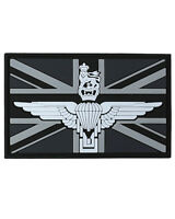 Parachute Regiment Union Jack PVC Rubber Badge Military Tactical Patch Hook