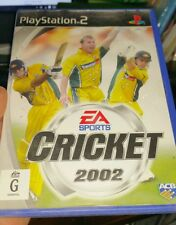 Cricket 2002 (no booklet) PLAYSTATION 2 PS2 - FREE POST
