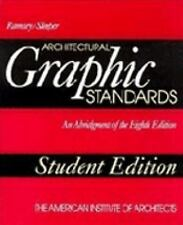 Architectural Graphic Standards, Student Edition, 8th Edition, Charles George Ra