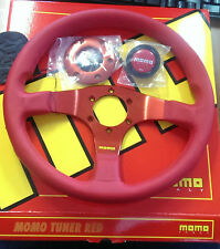 MOMO RED STEERING WHEEL TUNER