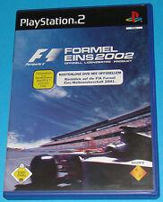 F1 Formel Eins 2002 - Sony Playstation 2 PS2 - PAL