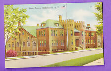 NEW YORK - MIDDLETOWN, STATE ARMORY POSTCARD 1622