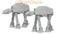 F-TOYS STAR WARS VEHICLE 7 AT-AT ALL TERRAIN ARMORED TRANSPORT x2 1:350 Modell 1