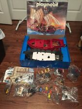 Playmobil #3286 Pirate Ship NEW OPEN BOX VINTAGE RARE VHTF sealed Bags