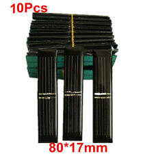 10X 3V 50mAh 0.15W 80X17mm Mini Power Solar Cell Panel For DIY Toy Light Charger