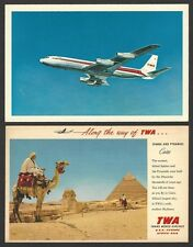Eastern Airlines various vintage On Board items (5)