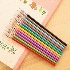 Colorful 12pcs/set Cute Novelty Gel Ink Pen Refills Stationery School Supplies