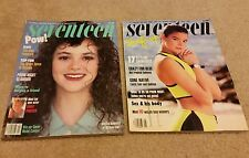 2 Vintage Seventeen Magazine Issues - March 1987 & May 1987 - teen fashion women