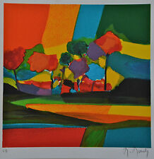 "Marcel Mouly ""La Petite Clairiere"" Limited Signed Numbered Lithograph with COA"