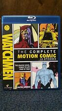 Watchmen: The Complete Motion Comic (Blu-ray Disc, 2011, With Movie Cash)