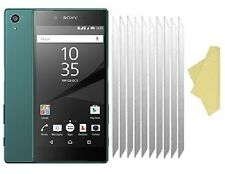 [10 PACK] CLEAR Screen Protector Cover Guards for Sony XPERIA Z5