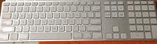 Apple Wired USB Keyboard with Numeric Keypad MB110LL/B A1243