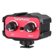 "Saramonic sr-ax100 2 Canali 3,5 mm (1/8 "") Mixer Audio Adattatore Interfaccia Per DSLR"