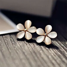 Korean Fashion Flower Jewelry Sakura Flower Cute Vintage Ear Stud Earrings