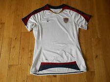 AUTHENTIC NIKE USA US SOCCER USWNT HOME JERSEY WOMENS MEDIUM HAMM
