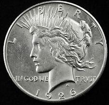 1926-s Peace Silver Dollar.  B.U.  83946   (Inv-A)