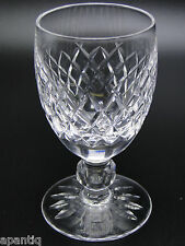 Waterford Boyne Cut Glass 4.5in White Wine Glasses Clear Crystal