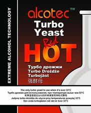 Alcotec Red Hot TURBO YEAST High Alcohol - Moonshine, Fast and  Free P&P